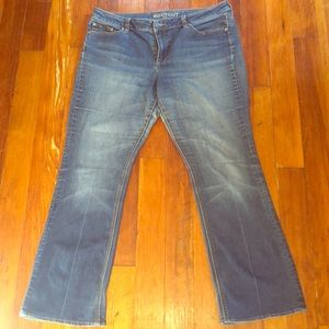 Ny&Co Women's Bootcut size 16 jeans